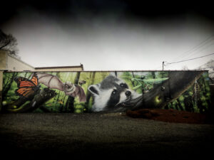 pest control mural